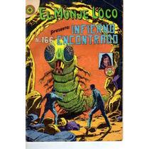 Tlax Comic De Terror Monje Loco #166 ( Infierno Encontrado)