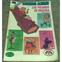 Comic Domingos Alegres Los Peligros De Paulina