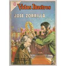 Comic José Zorrilla Juan Tenorio Vidas Ilustres Novaro 1965