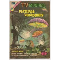 Comic Tv Mundial Platillos Voladores Ovnis Novaro 1973