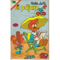Comic Tamaño Grande De El Pajaro Loco #2 (1975) Novaro