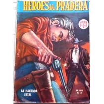Vintage Revista ( Heroes De La Pradera ) Años 60s