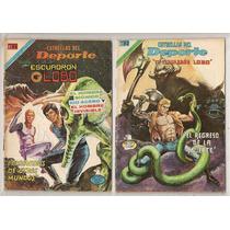 Comics Escuadrón Lobo Kid Acero Hombre Biónico Novaro 1978