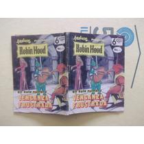 Robin Hood,mini Revista N.16 Julio 1981 Editora Sol