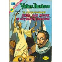Miguel De Cervantes Saavedra Comic Novaro Historieta