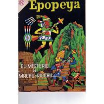 Tlax - Comic Epopeya #72 ( El Misterio De Machu Picchu)
