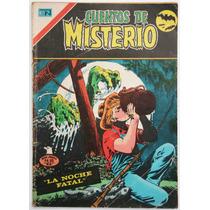 Cuentos De Misterio # 260 Ed. Novaro 1977