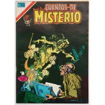 Cuentos De Misterio # 296 Ed. Novaro 1979 Tlacua03