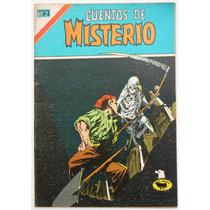 Cuentos De Misterio # 253 Ed. Novaro 1977 Tlacua03
