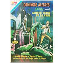 Domingos Alegres # 1436 Aunque Ud No Lo Crea Novaro 1982
