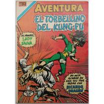 Aventura 944 El Torbellino Del Kung Fu Novaro 1980 Aguila