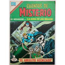 Cuentos De Misterio # 288 Ed. Novaro 1979 Tlacua03