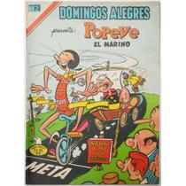 Domingos Alegres # 1217 Popeye El Marino Novaro 1977