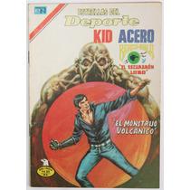 Kid Acero No 59 Escuadron Lobo Ed. Novaro Brazo Bala