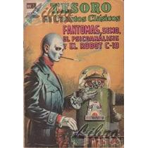 Comic No. 136 De Tesoro De Cuentos Clásicos: Fantomas (1968)