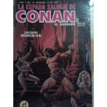 La Espada Salvaje De Conan El Barbaro #14, Ed 1988