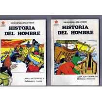 Lote De Libros Comic Historia Del Hombre De Televisa