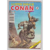 La Espada Salvaje De Conan El Barbaro # 161 - Novedades