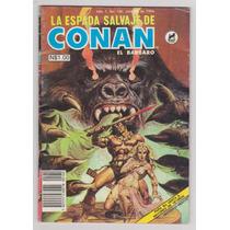 La Espada Salvaje De Conan El Barbaro # 160 - Novedades