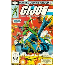 Gi Joe Cobra Coleccion Completa De Marvel Comic De 1-155 Op4