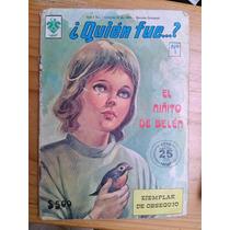 Comic Cuento Historieta Quién Fué? Año 1980 Num 1 Edit Vid
