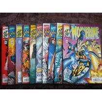 Wolverine Vid 1-2, 4-6, 8-12 Comics
