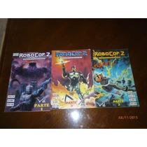 Comics Robocop 2 Adaptacion Pelicula Tres Partes