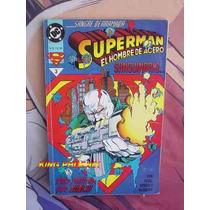 Superman El Hombre De Acero #3, 96 Paginas Edit. Vid