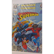 Superman Mundos En Colision Vol.2 1era Edicion Editorial Vid