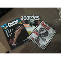 Excelente Lote De 3 Revistas Para Guitarra