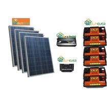 Kit Sitema Solar Aislado 3kw Por Dia Sunever