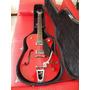 Hermosisima Guitarra Gretch Modelo G5129, Roja Estuche Nuevo