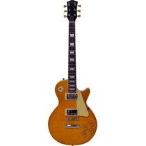 Guitarra Eléctrica Glen Burton Lp-style Con Accesorios Gold