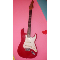 Guitarra Electrica Rockwood Pro By Honner Rock Lira Roja Bl
