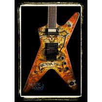 Guitarra Eléctrica Dean Dimebonics Ml Nueva Con Estuche