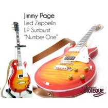 Led Zeppelin Mini Guitarras A Escala Minicustomguitars 25cm