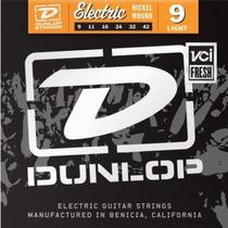 Dunlop Cuerdas 9-42 Light Guitarra Eléctrica Plumilla Gratis
