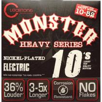 Cleartone Monster Heavy Cuerdas 10-52 Guitarra Dave Mustaine