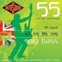 Rotosound Solo Bass Rs 55ld Cuerdas Bajo 45-105 Inoxidables