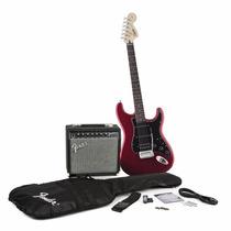 Guitarra Eléctrica Fender Squier Strat Hss Con Accesorios