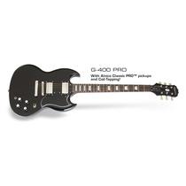 Guitarra Epiphone Sg G400 Pro Ebony Nueva Buen Precio