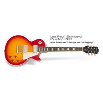 Guitarra Epiphone Les Paul Standar Plus Top Pro Cherry Env