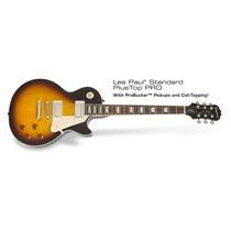 Guitarra Epiphone Les Paul Standar Plus Toppro Vintage Burst