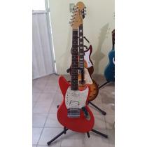 Fender Jagstang Desing By Kurt Cobain Japan Candy Red
