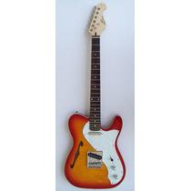 Guitarra S101 Telecaster Thinline Semi-hollow Red Burst