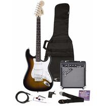 Guitarra Eléctrica Squier 030-1600-032 Se & Amplificador