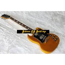 Gibson Sg Custom Gold Top