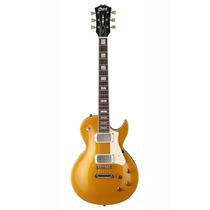 Guitarra Cort Cr200 Gold Top Tipo Les Paul Nueva Buen Precio
