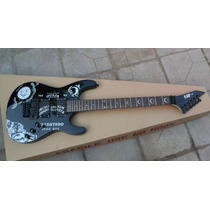Guitarra Esp Kirk Hammett Ouija Negra (metallica)