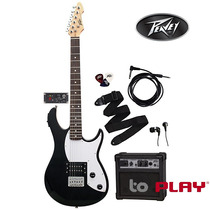 Paquete De Guitarra Peavey Rock Master 5 En 1
